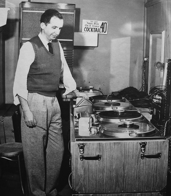 Jack Mullin with Ampex 200s